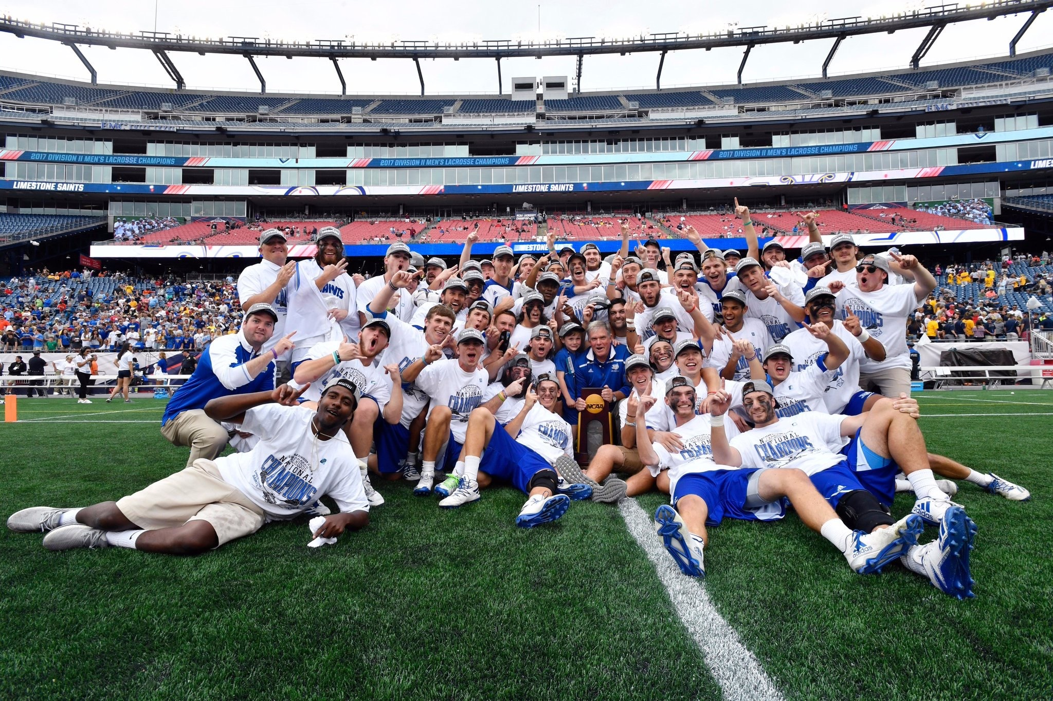 LIMESTONE GOES 12-0 ON SHAW SPORTS TURF EN ROUTE TO FIFTH NCAA TITLE Image