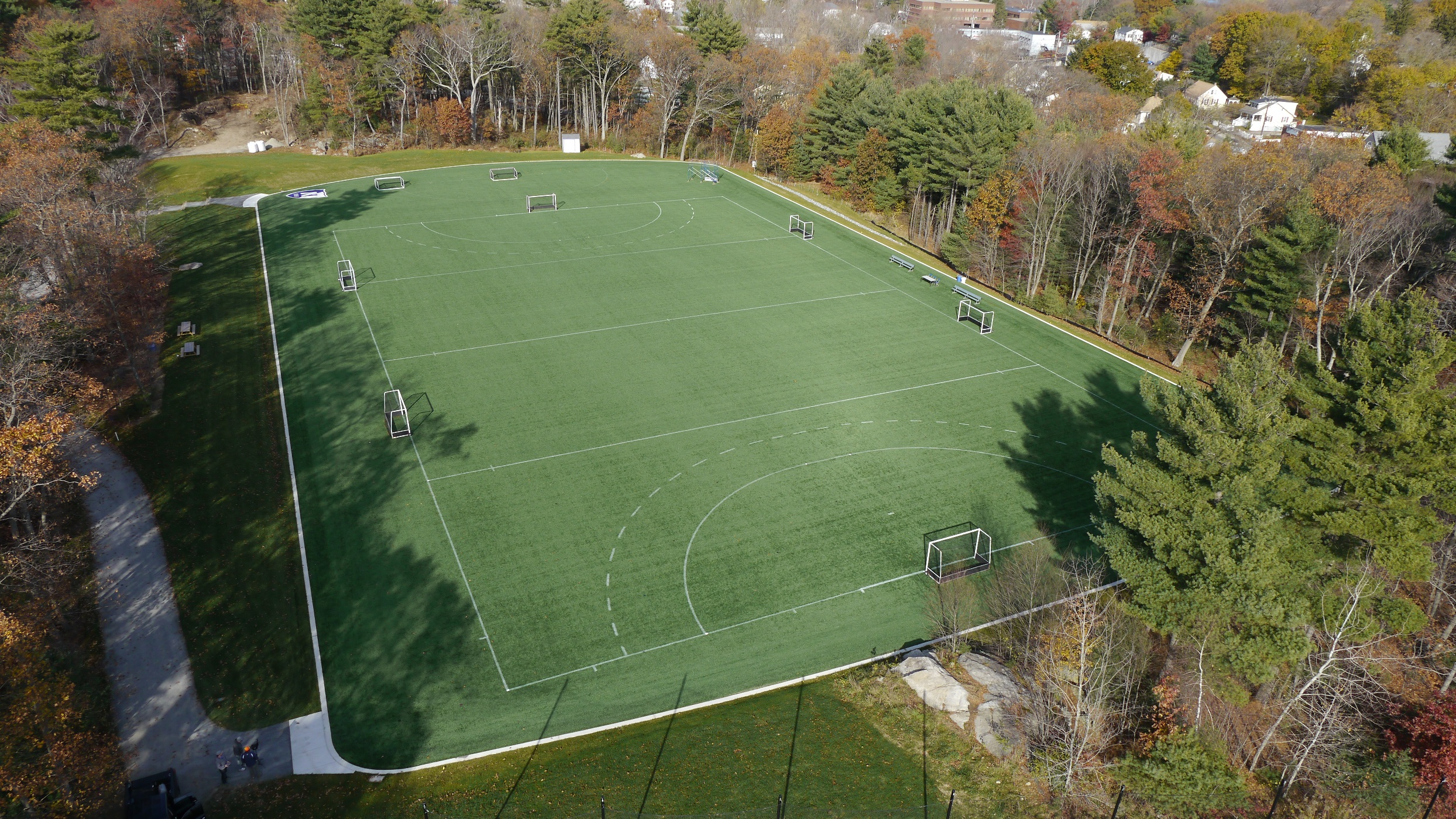 Noble and Greenough School Wins Award for Shaw Sports Turf Field Image