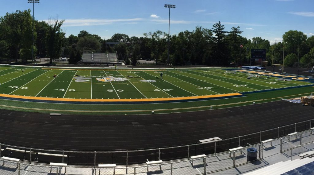 MARIAN UNIVERSITY INSTALLS NEW SHAW SPORTS TURF FIELD Image