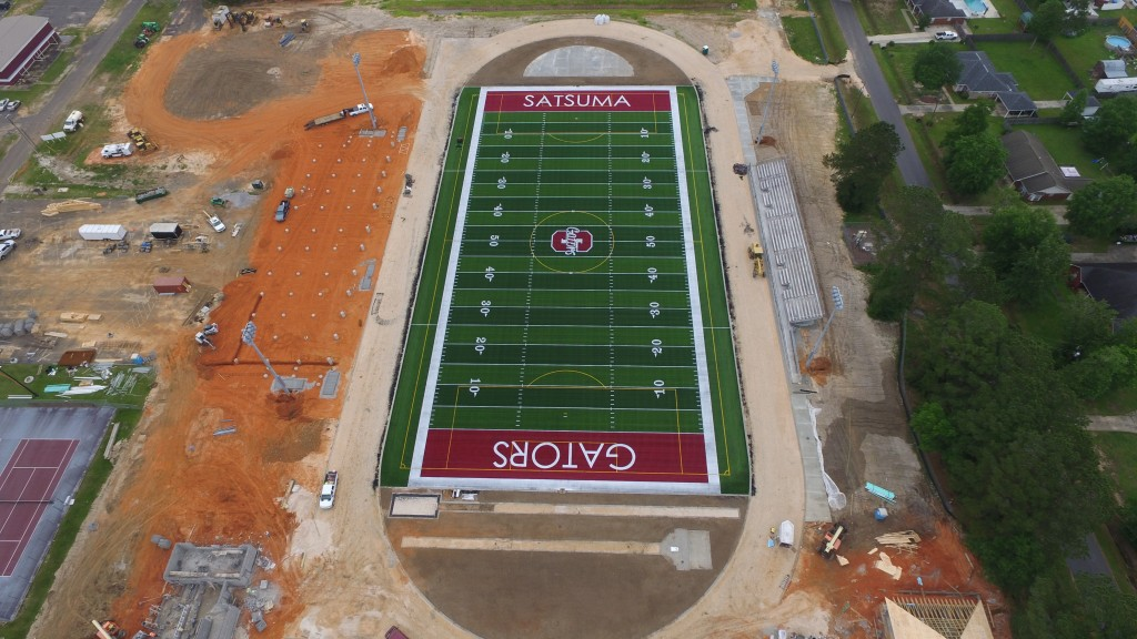SATSUMA AD STEVE COCHRAN ON THE IMPACT OF THE SCHOOL'S NEW SHAW SPORTS TURF FIELD Image