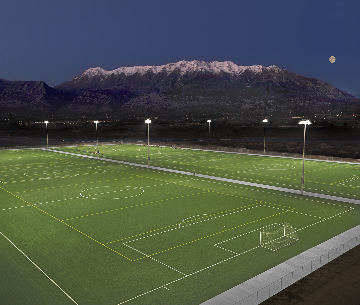Utah Valley University Installs Four New Shaw Sports Turf Fields Image
