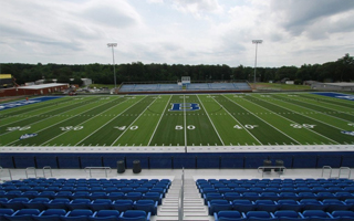 BREMEN BLUE DEVILS INSTALL NEW SHAW SPORTS TURF FIELD