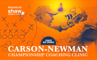CARSON-NEWMAN CHAMPIONSHIP COACHING CLINIC SPEAKERS ANNOUNCED