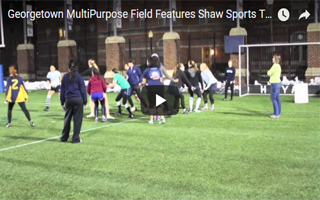 Georgetown MultiPurpose Field Features Shaw Sports Turf