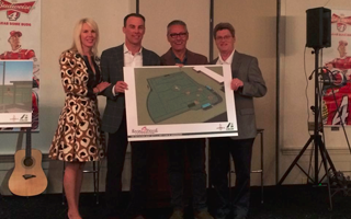 NASCAR DRIVER KEVIN HARVICK PARTNERS WITH THE CAL RIPKEN, SR. FOUNDATION TO INSTALL SHAW SPORTS TURF FIELD FOR KIDS