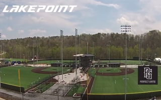 DRONE FLYOVER OF LAKEPOINT SPORTING COMMUNITY & PERFECT GAME SOUTH