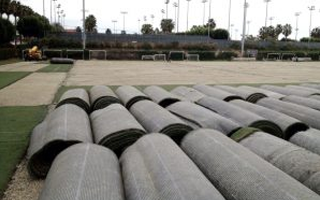 SHAW SPORTS TURF DIVERTS USED TURF AND INFILL FROM THE LANDFILL