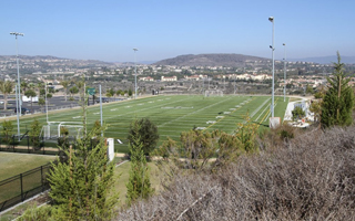 SAN CLEMENTE INSTALLING FIRST SHAW SPORTS TURF GEOFILL FIELD IN SOUTHERN CALIFORNIA
