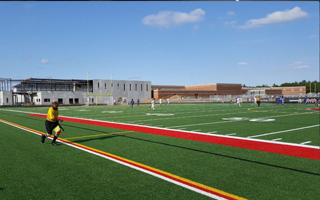 NEW SHAW SPORTS TURF FIELDS PART OF $28 MILLION ADDITION AT STILLWATER HIGH SCHOOL