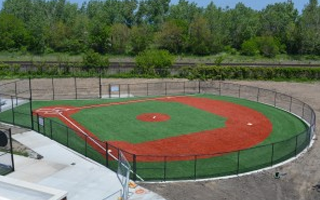 WHITING MUNICIPAL SPORTS COMPLEX GETS SHAW SPORTS TURF FOR TEE BALL