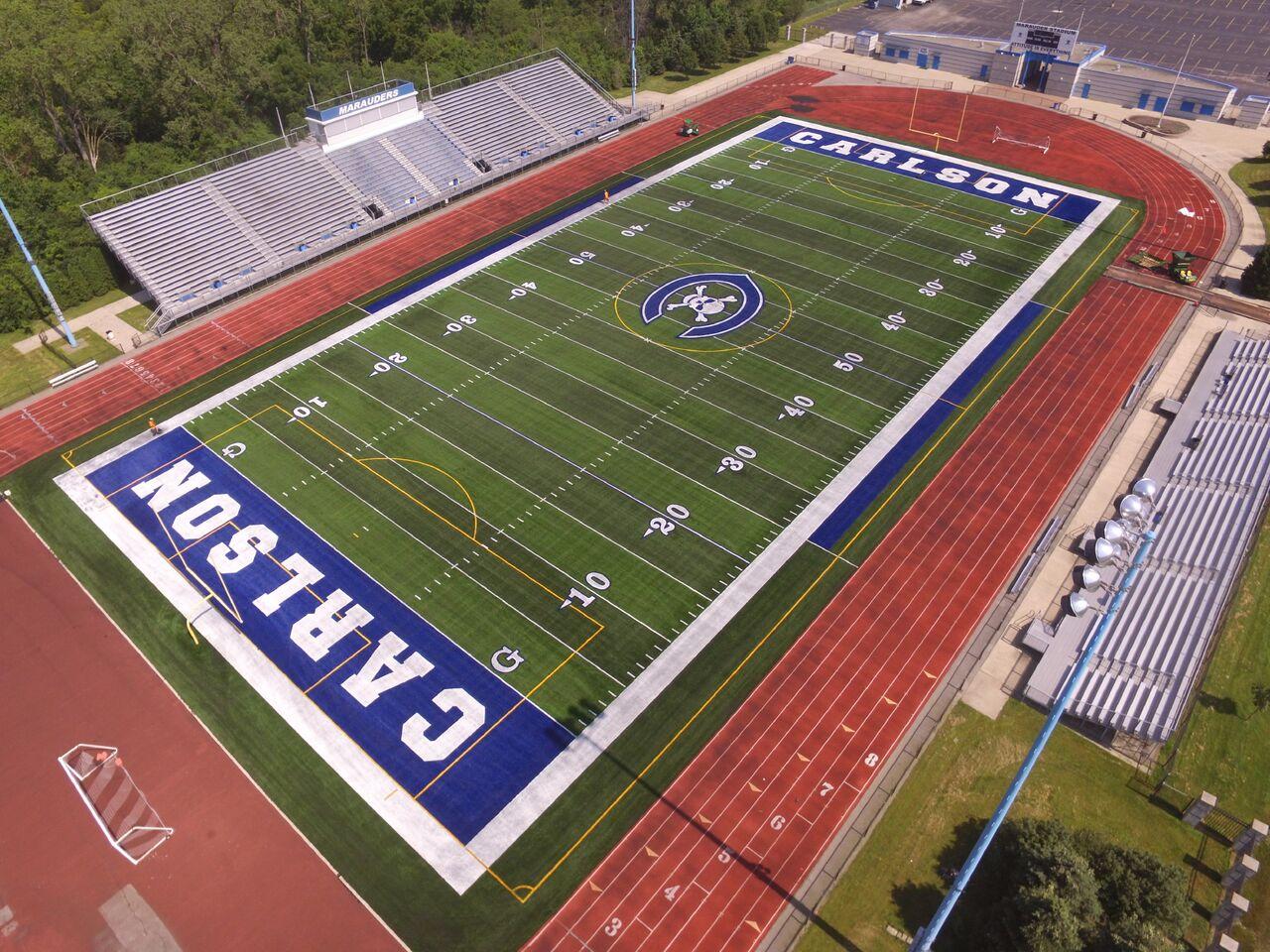 Carlson High School Shaw Sports Turf
