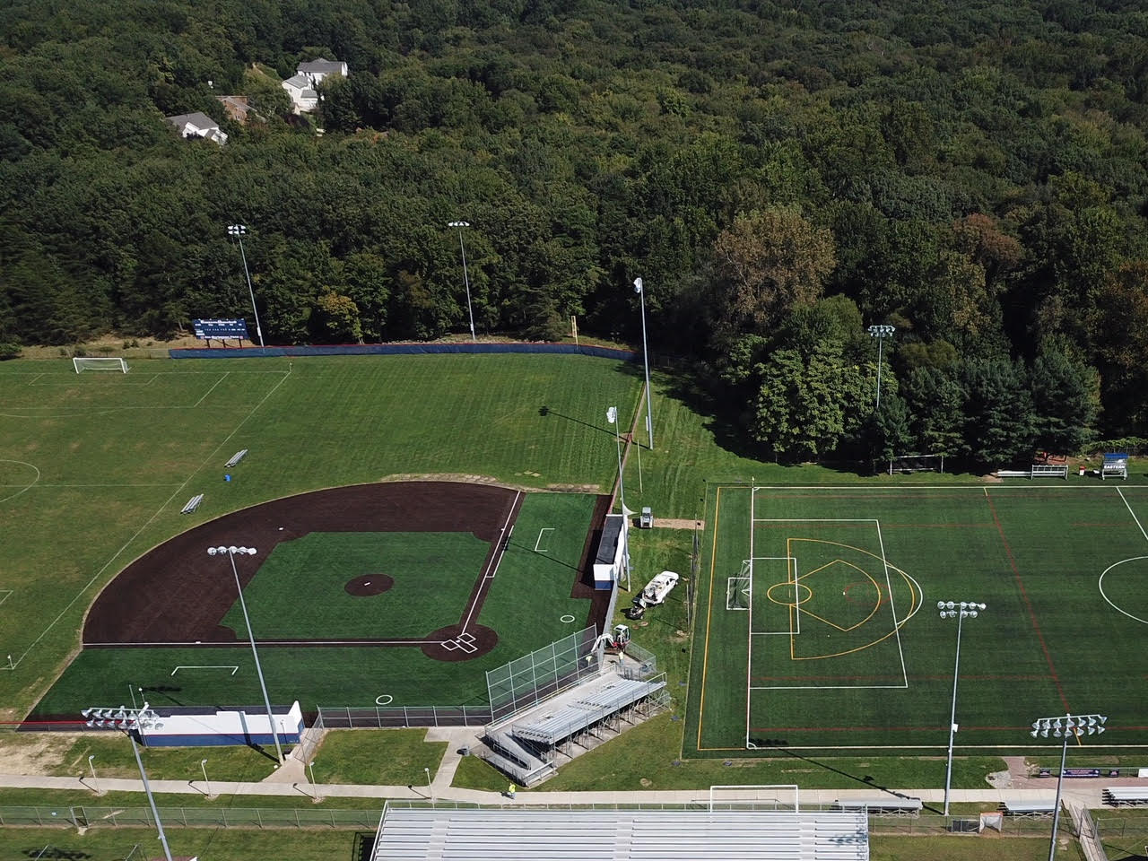 EASTERN REGIONAL SPORTS COMPLEXES NOW FEATURE SHAW SPORTS TURF FIELDS