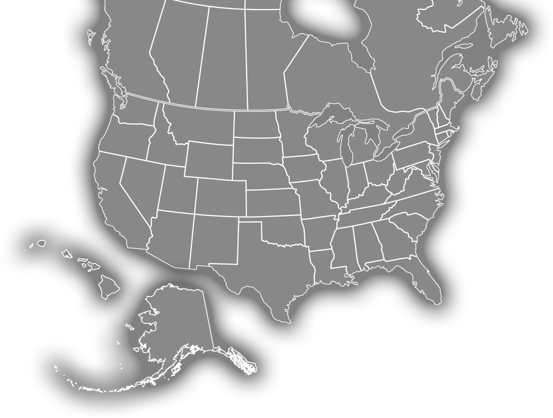North America Rep Map