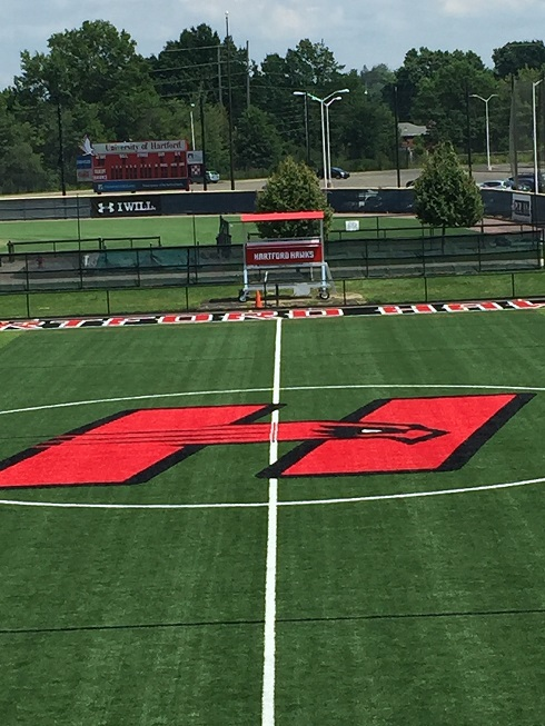 HARTFORD HAWKS PLAYING ON NEW SHAW SPORTS TURF AT AL-MARZOOK FIELD