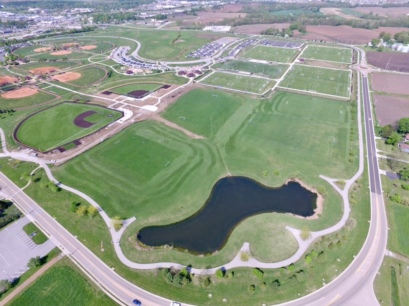 MULTI-SPORT COMPLEX, O'FALLON FAMILY SPORTS PARK NOW COMPLETE