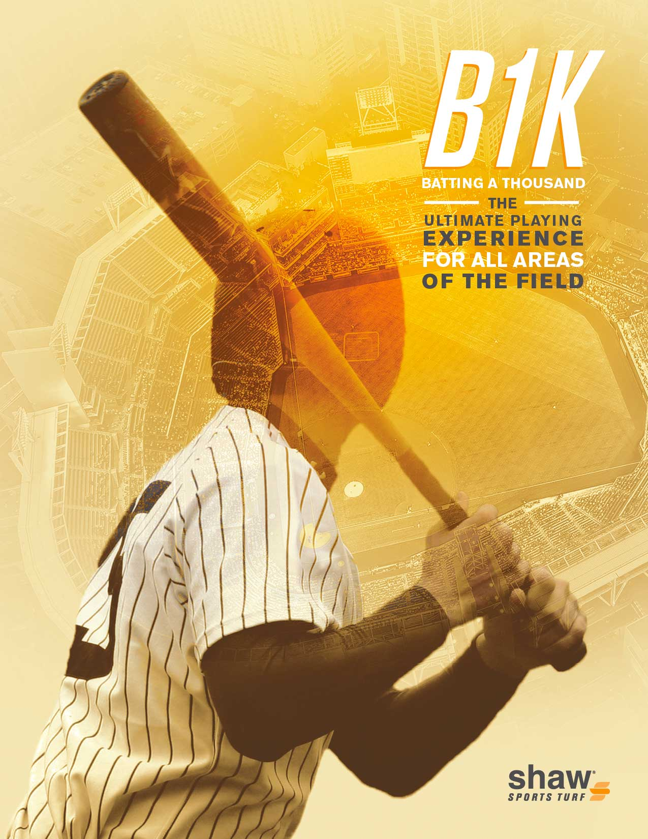 B1K: Batting A Thousand Ushers in a New Generation of Synthetic Baseball Turf Image