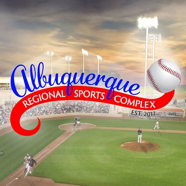 ALBUQUERQUE REGIONAL SPORTS COMPLEX FEATURES FIVE SHAW SPORTS TURF BASEBALL PLAYING FIELDS  Image