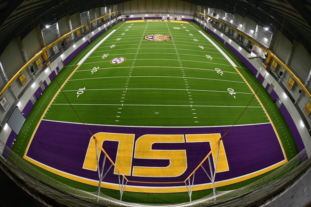 NCAA FOOTBALL CHAMPS, LSU, TO INSTALL SECOND SHAW SPORTS TURF PRACTICE FIELD