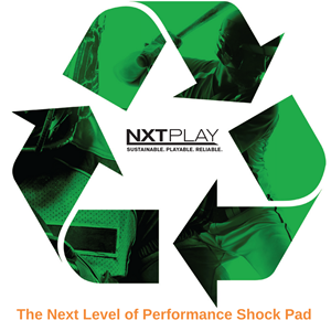 Shaw Sports Turf Introduces NXTPlayTM Performance Shock Pad – Artificial Turf's Next Play