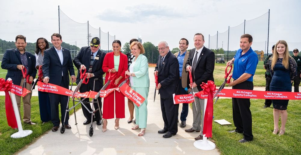 Ali Krieger Sports Complex Opens With New Shaw Sports Turf Soccer Fields Image