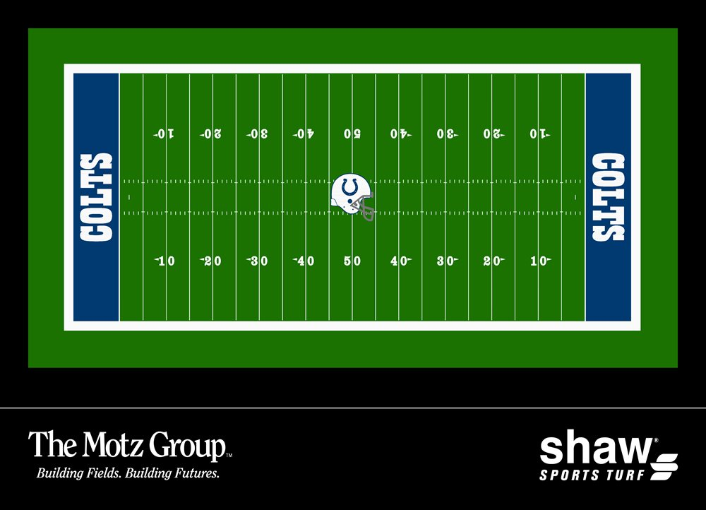 The Motz Group and Shaw Sports Turf Selected To Equip Indianapolis Colts with a New Synthetic Turf Field
