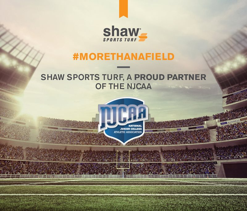 Shaw Sports Turf named Official Turf Partner of NJCAA