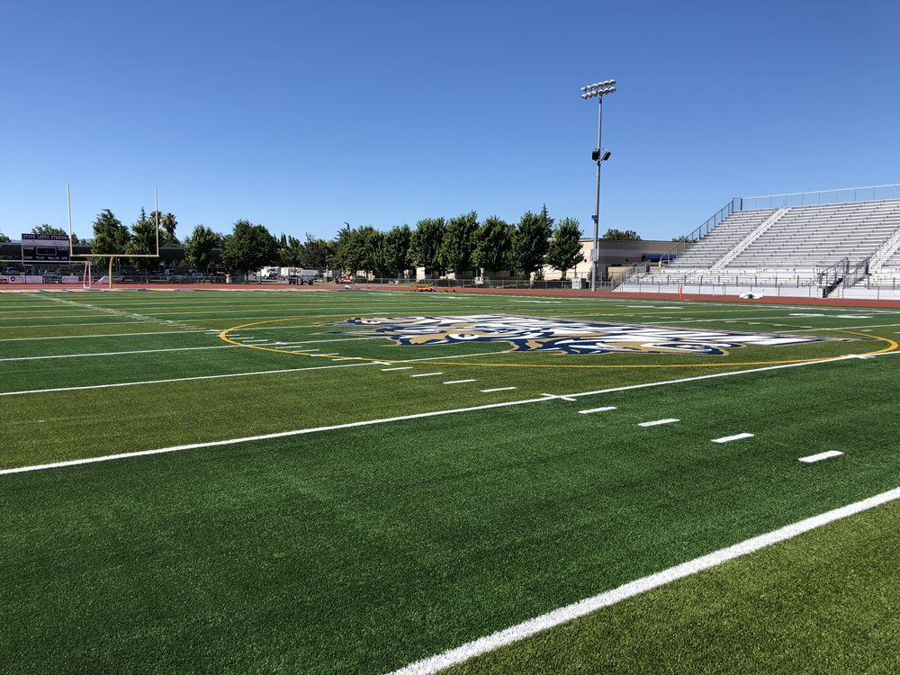 NEW SHAW SPORTS TURF FIELD BRINGS BACK TEAM SPIRIT TO MERRILL F. WEST HIGH SCHOOL  Image