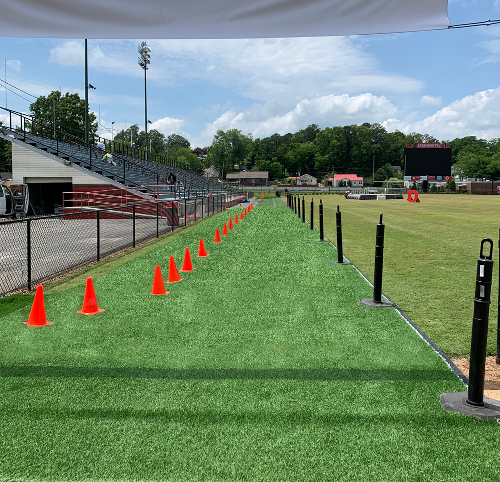 SHAW SPORTS TURF HELPS FACILITATE CREATIVE GRADUATION CEREMONY Image